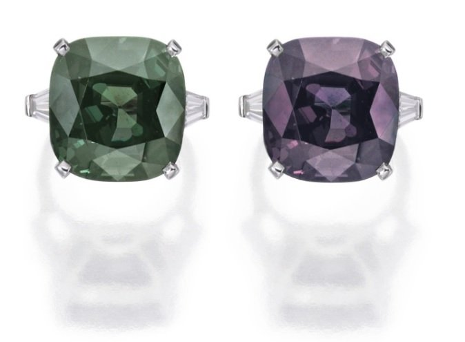 Christie's & Sotheby's Most Rare Alexandrites
