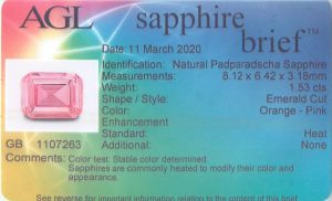 AGL Sapphire