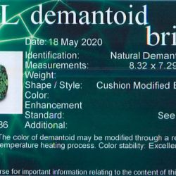 AGL demantoid