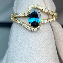 Real Alexandrite Ring
