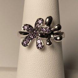 Alexandrite Wedding Rings