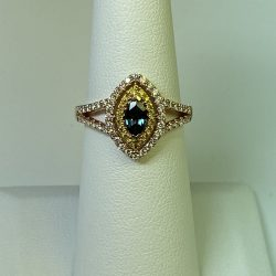 Alexandrite Wedding Rings